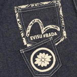 Мужская рубашка Evisu Seagull And Kanji Denim Indigo фото- 2