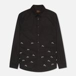 Мужская рубашка Evisu Seagull Plate Black фото- 0