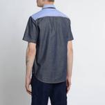 Мужская рубашка Evisu Seagull Pocket Denim Indigo фото- 7