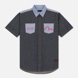 Мужская рубашка Evisu Seagull Pocket Denim Indigo фото- 0