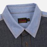 Мужская рубашка Evisu Seagull Pocket Denim Indigo фото- 1