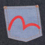 Мужская рубашка Evisu Seagull Pocket Denim Indigo фото- 2