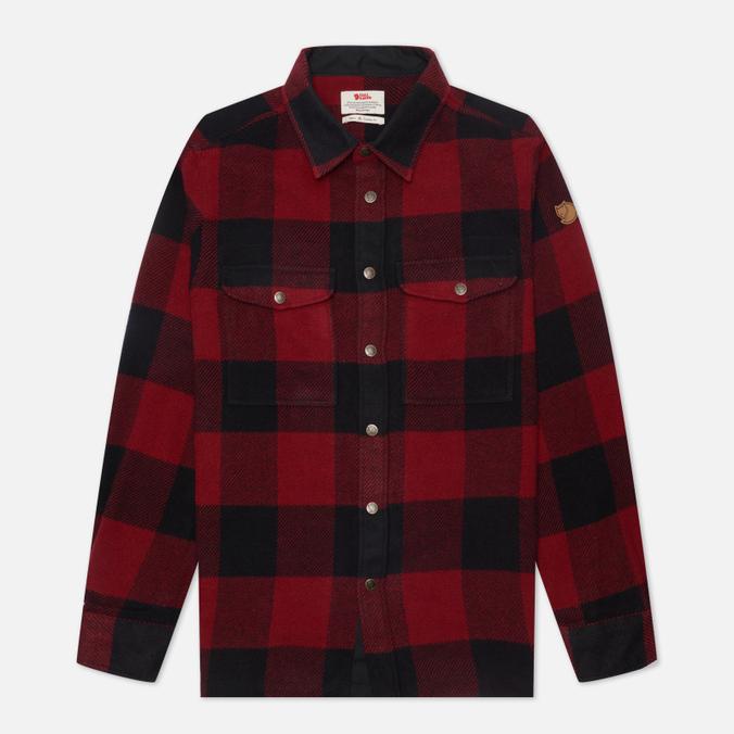 Fjallraven Canada Men's Shirt Red