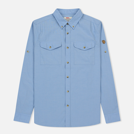 Мужская рубашка Fjallraven Ovik Chambray Blue Ridge