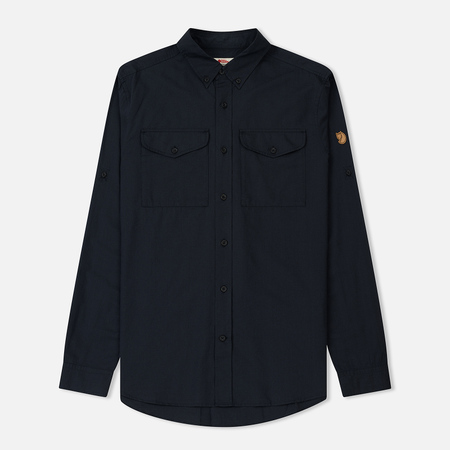 Мужская рубашка Fjallraven Ovik Lite Dark Navy