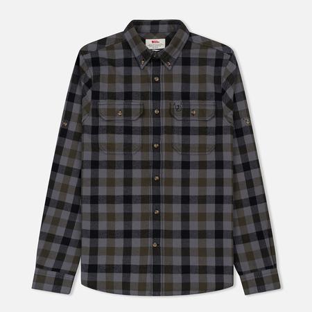 Мужская рубашка Fjallraven Skog Black