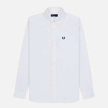 Мужская рубашка Fred Perry Authentic Button Down Oxford White фото- 0