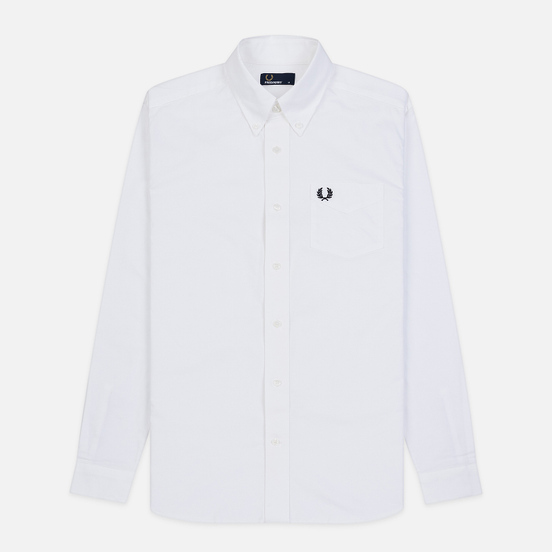 Мужская рубашка Fred Perry Authentic Button Down Oxford White