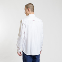 Мужская рубашка Fred Perry Authentic Button Down Oxford White фото- 2