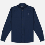 Мужская рубашка Fred Perry Classic Cotton Twill Navy фото- 0