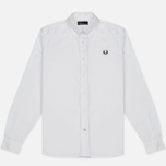 Мужская рубашка Fred Perry Classic Cotton Twill White фото- 0