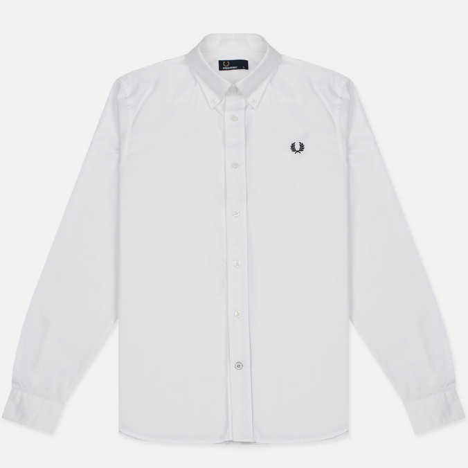 Мужская рубашка Fred Perry Classic Cotton Twill White