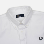 Мужская рубашка Fred Perry Classic Cotton Twill White фото- 1