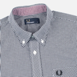 Мужская рубашка Fred Perry Classic SS Gingham Black фото- 1