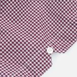 Мужская рубашка Fred Perry Classic SS Gingham Mahogany фото- 4