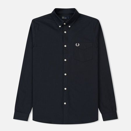 Мужская рубашка Fred Perry Classic Oxford Cotton Black
