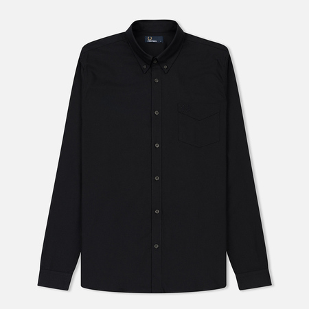 Мужская рубашка Fred Perry Classic Oxford Cotton Full Black