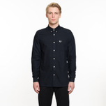 Мужская рубашка Fred Perry Classic Oxford Cotton Navy фото- 6