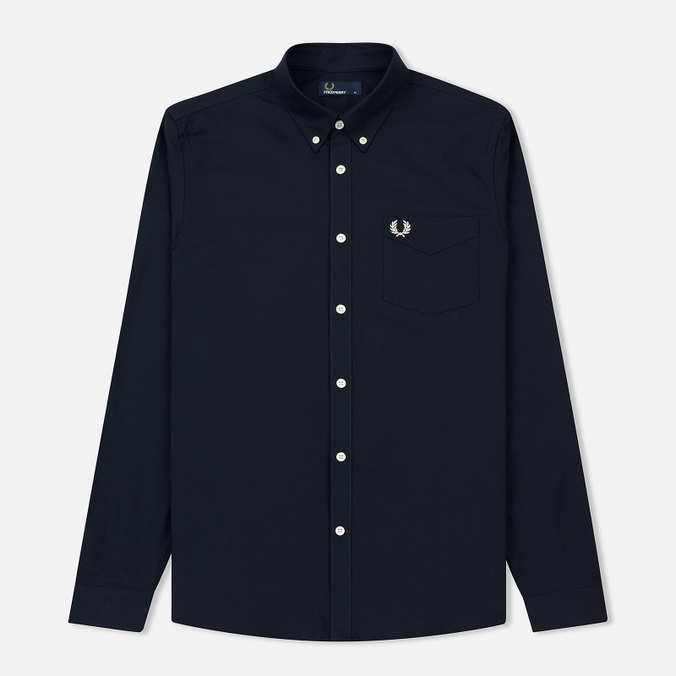 Мужская рубашка Fred Perry Classic Oxford Cotton Navy