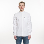 Мужская рубашка Fred Perry Classic Oxford Cotton White фото- 6