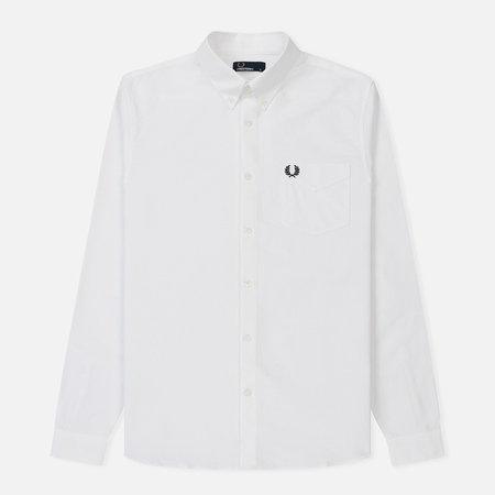 Мужская рубашка Fred Perry Classic Oxford Cotton White