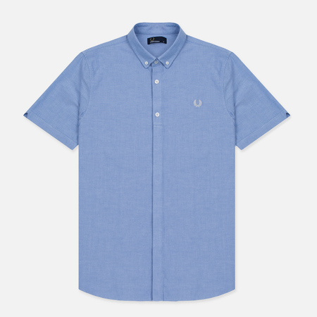 Мужская рубашка Fred Perry Classic Oxford SS Light Smoke