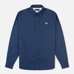 Fred Perry Classic Twill Men's Shirt Navy photo- 0