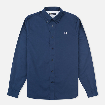 Fred Perry Classic Twill Men's Shirt Navy