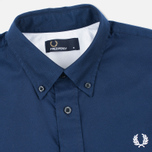 Fred Perry Classic Twill Men's Shirt Navy photo- 1