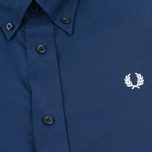 Fred Perry Classic Twill Men's Shirt Navy photo- 2