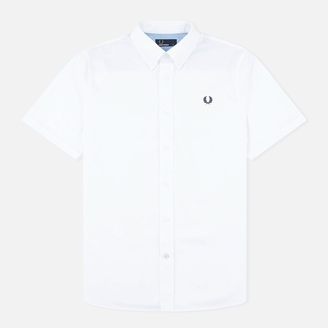 Мужская рубашка Fred Perry Classic Twill SS White