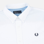Мужская рубашка Fred Perry Classic Twill SS White фото- 1