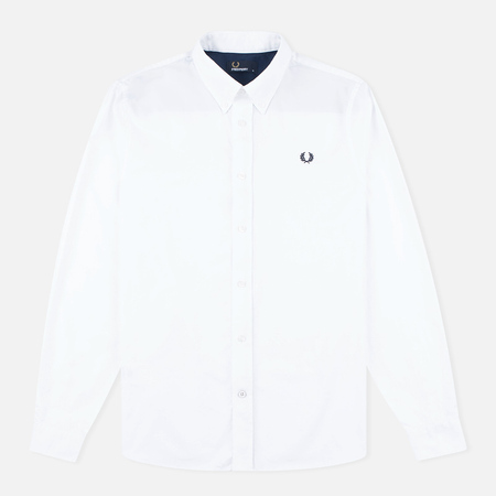 Fred Perry Classic Twill Men's Shirt White