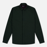 Fred Perry Concealed Placket Oxford British Men's Shirt Racing Green photo- 0