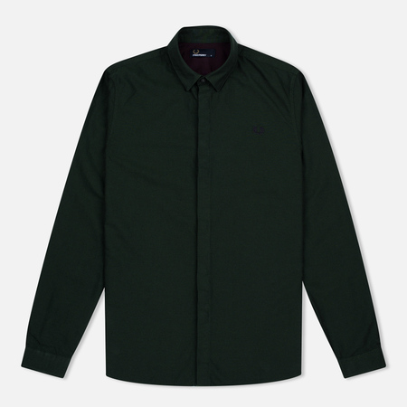Мужская рубашка Fred Perry Concealed Placket Oxford British Racing Green