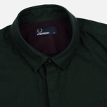 Fred Perry Concealed Placket Oxford British Men's Shirt Racing Green photo- 1