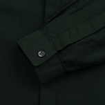Fred Perry Concealed Placket Oxford British Men's Shirt Racing Green photo- 3