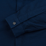 Мужская рубашка Fred Perry Concealed Placket Oxford French Navy фото- 3