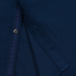 Мужская рубашка Fred Perry Concealed Placket Oxford French Navy фото- 4