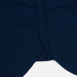 Мужская рубашка Fred Perry Concealed Placket Oxford French Navy фото- 5