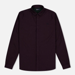 Мужская рубашка Fred Perry Concealed Placket Oxford Mahogany фото- 0