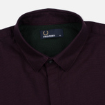 Мужская рубашка Fred Perry Concealed Placket Oxford Mahogany фото- 1