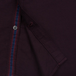 Мужская рубашка Fred Perry Concealed Placket Oxford Mahogany фото- 4