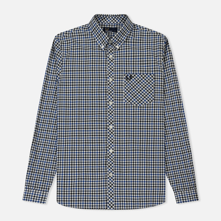 Мужская рубашка Fred Perry Four Colour Gingham Royal