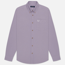 Мужская рубашка Fred Perry Overdyed Lavendar Ash