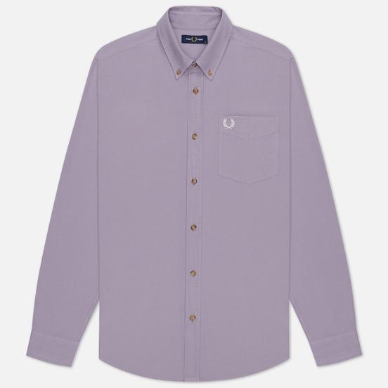 Мужская рубашка Fred Perry Overdyed Lavendar Ash