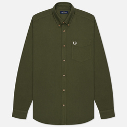Мужская рубашка Fred Perry Overdyed Military Green