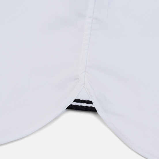 Мужская рубашка Fred Perry Oxford Embroidered Logo White