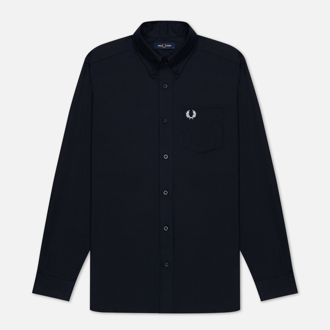 Мужская рубашка Fred Perry Oxford Navy