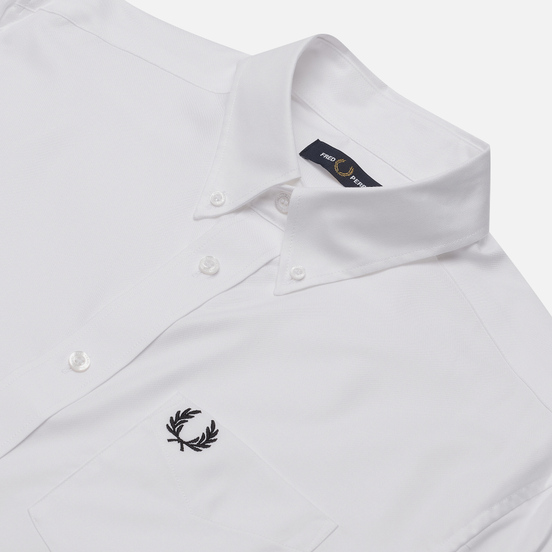 Мужская рубашка Fred Perry Oxford White